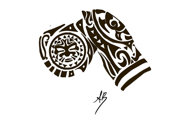 Disegno di un Tatuaggio Maori - Feel No Pain