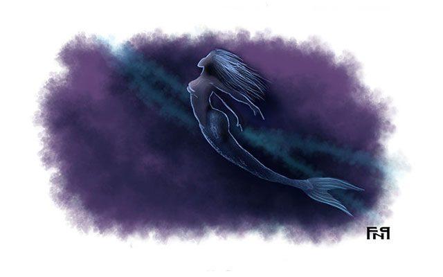 Una sirena nel fondale marino - Feel No Pain