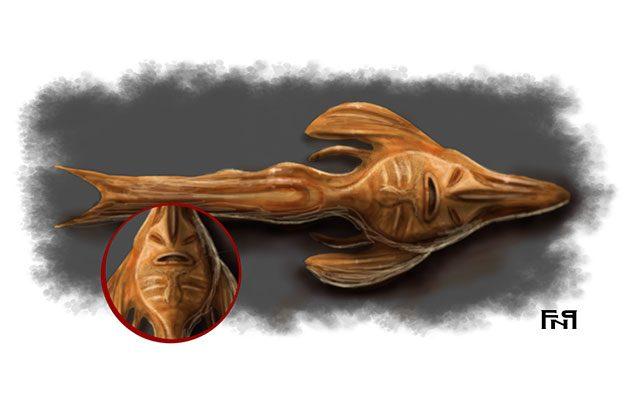 Raffigurazione di una sirena essiccata della Camera delle meraviglie - Feel No Pain